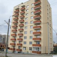 50-квартирный 10-ти этажный жилой дом по ул.Панаса Мирного, 18А в г. Хмельницком (сдан в 2014г.) Проектирование и строительство.